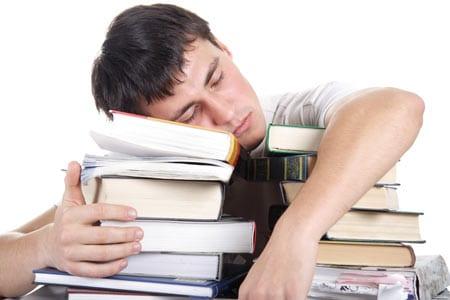 no sólo estudiar y dormir