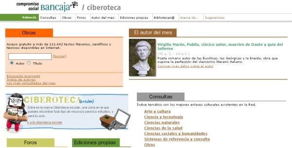 Ciberoteca, el compromiso cultural de Bancaja