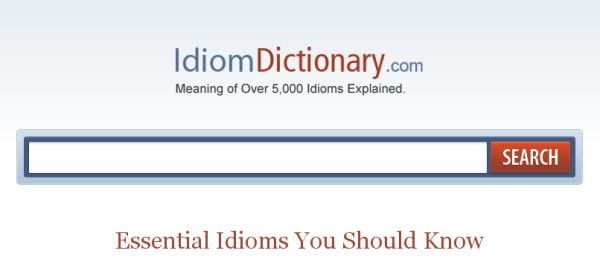IdiomDictionary