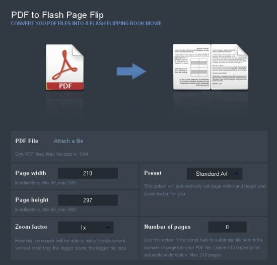 PDF To Flash Page Flip