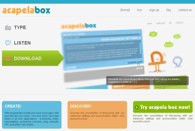 acapelabox