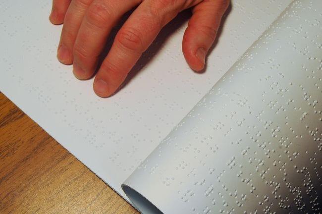 e-book para personas con discapacidad visual