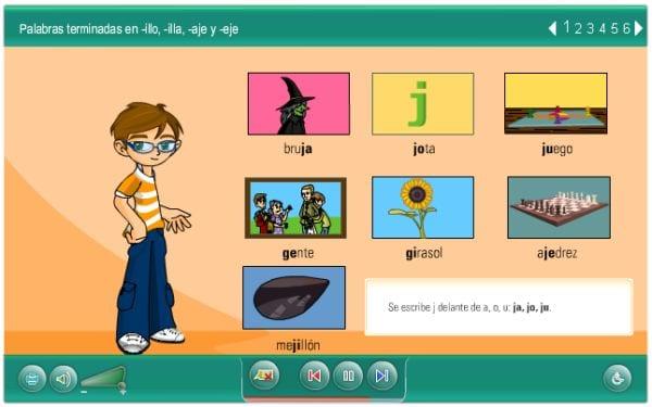 Curso de ortografía para niños