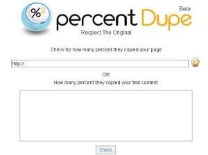 percentDupe