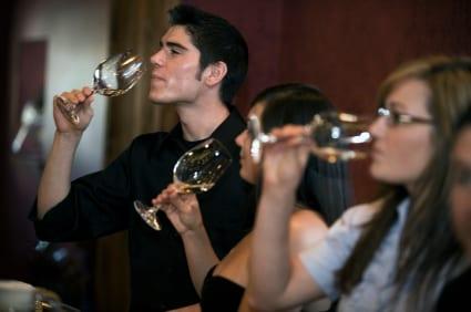 Curso de catador de vinos