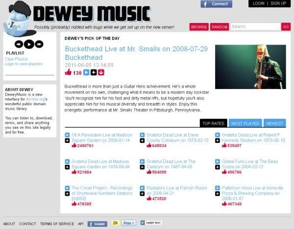 Dewey Music
