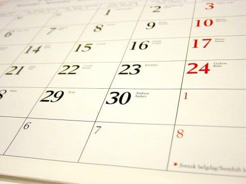 Los plazos de inscripción