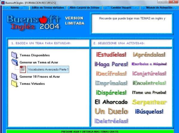 Buensoft-ingles