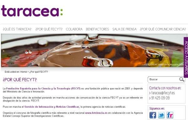 Proyecto TARACEA
