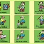 desarrollo de la lectoescritura con pictogramas