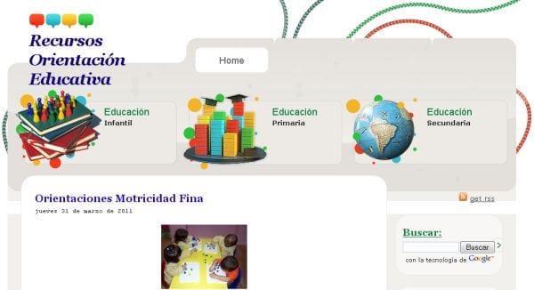 recursos de orientación educativa