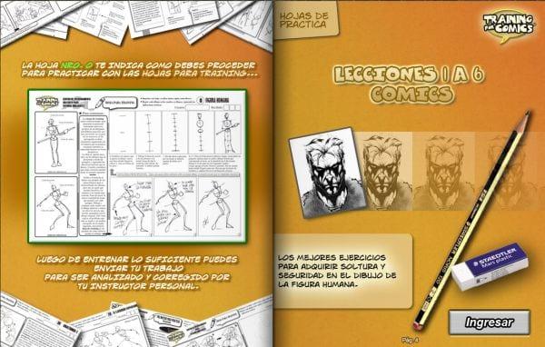 Cursos de dibujante de cómics