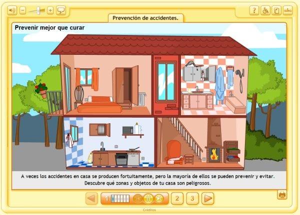 Identificar los peligros del hogar y prevenirlos