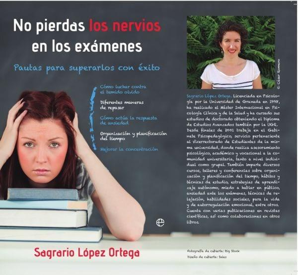 No pierdas los nervios en los exámenes, de Sagrario López Ortega