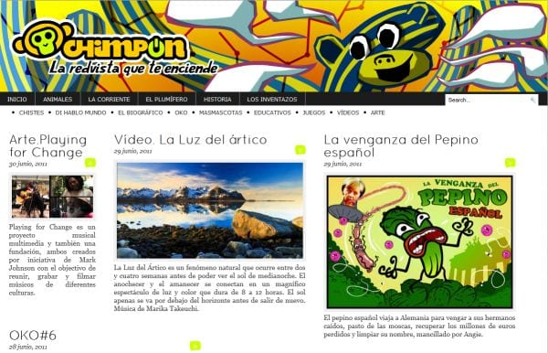 Revista digital Chimpón