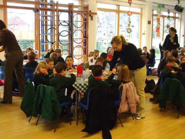 El comedor escolar como entorno educativo