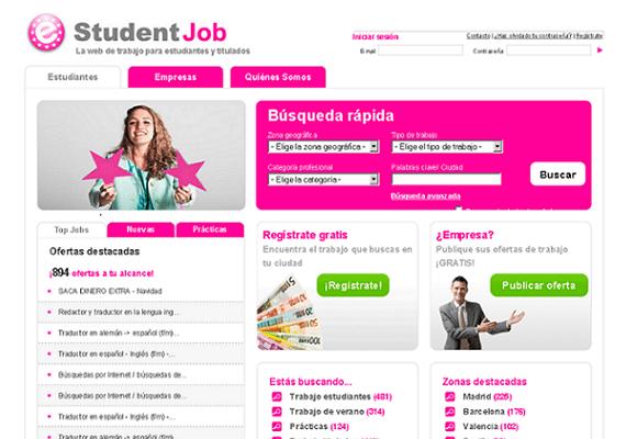 Student Job, bolsa de empleo para estudiantes