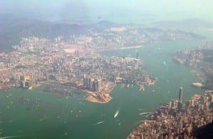 Vista aérea Hong Kong