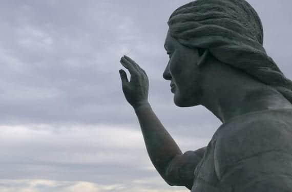 Monumento pescadores Torrevieja