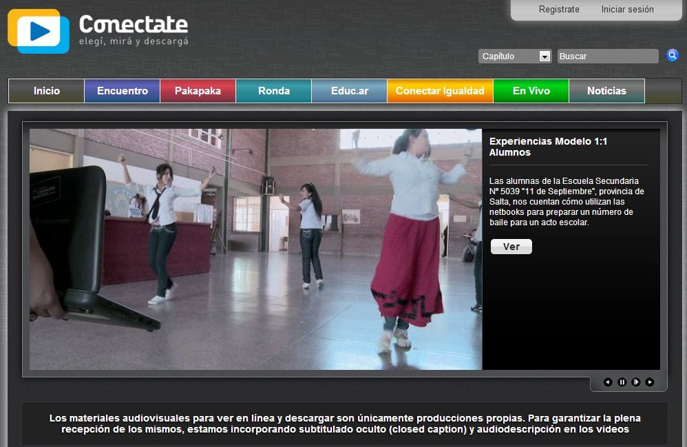 Conectate recursos audiovisuales cursos online gratis