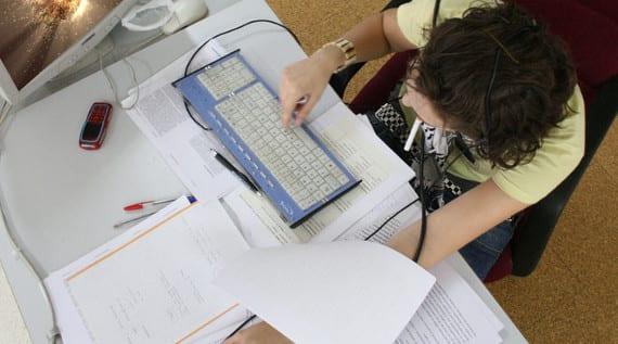 Estudiando con el ordenador