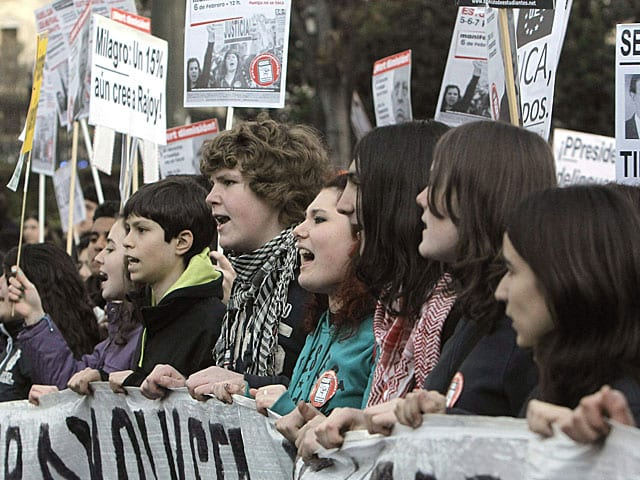 manifestaciones reforma educativa