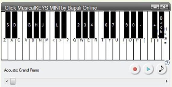 Click Musical Keys