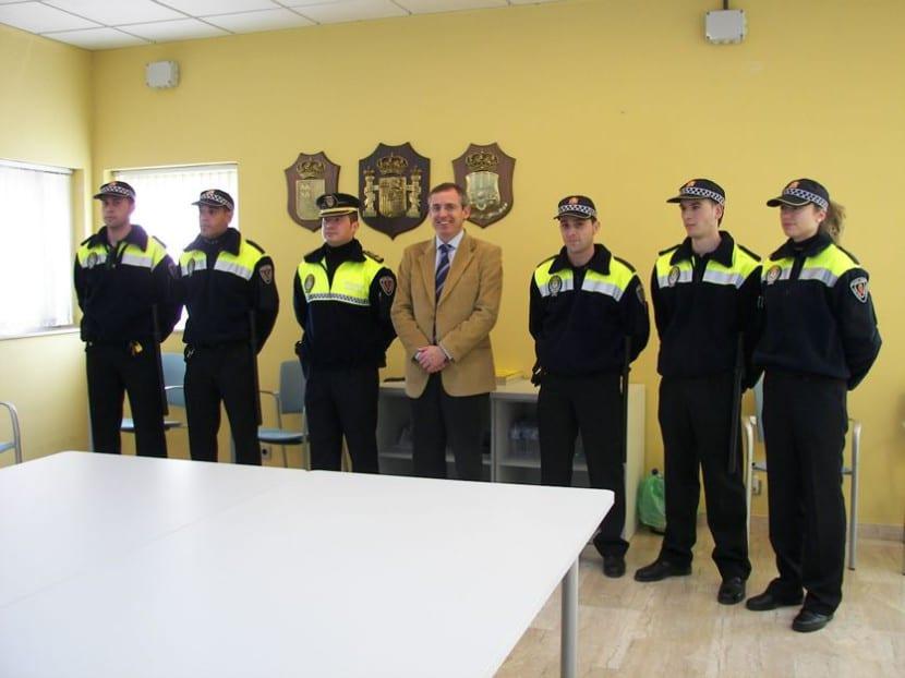 Agentes de policía