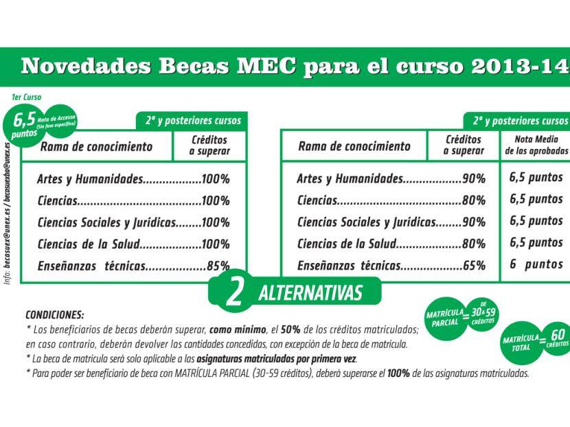 Mecd, Becas