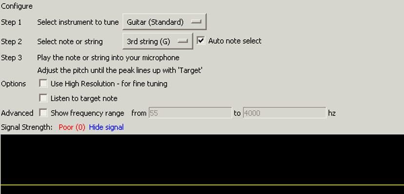 Audio Tuner