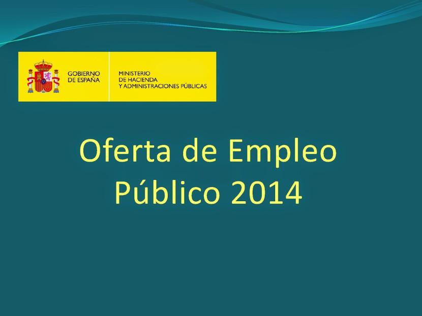 Oferta de Empleo Público de la Administración del Estado