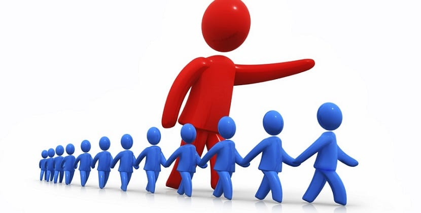 La actitud del líder en un trabajo en equipo