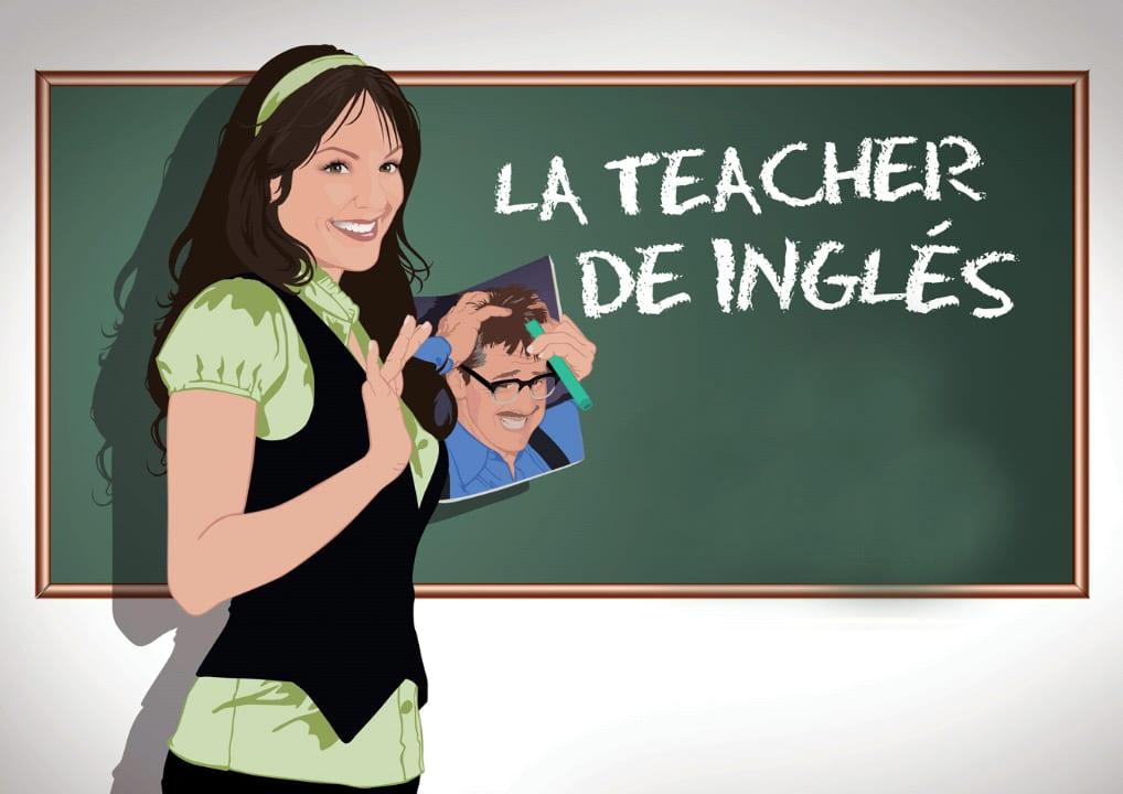 La profesora de ingles amateurpe com