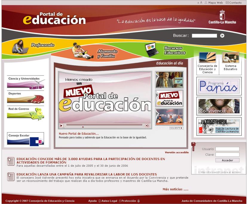 Portal de Educación de Castilla la Mancha