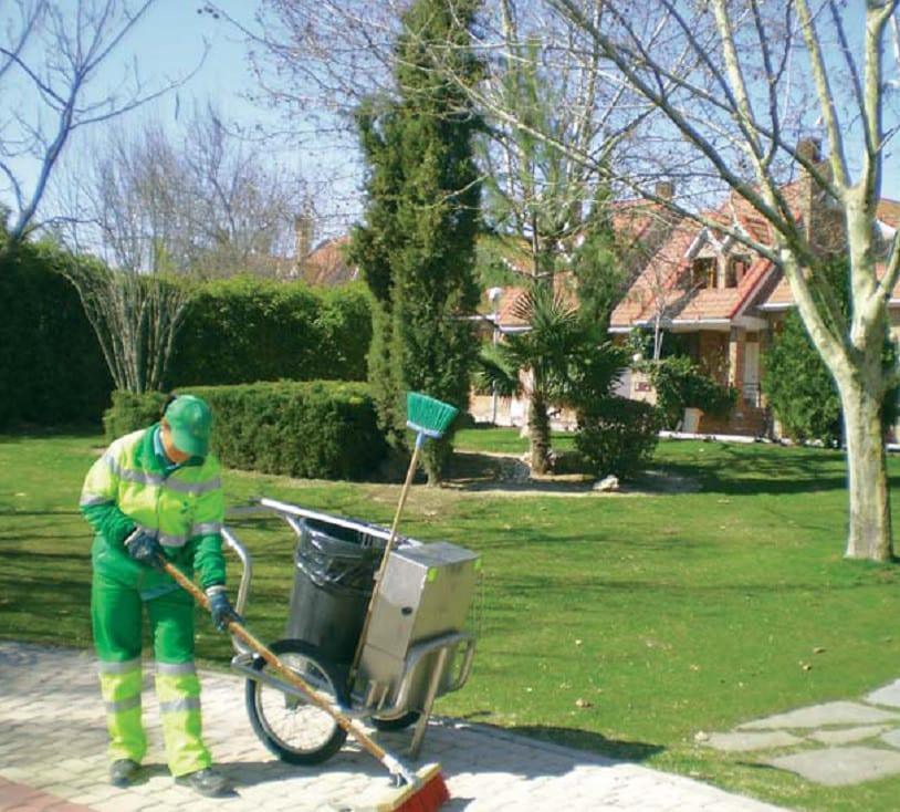 servicio de limpieza viaria