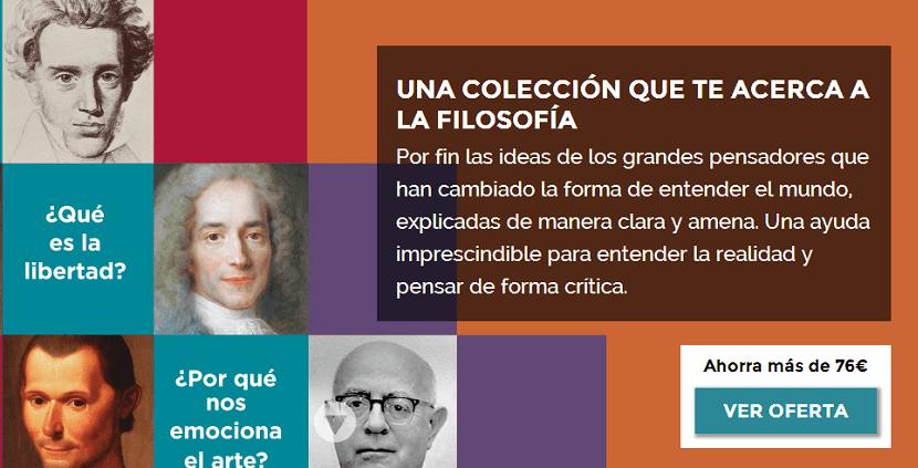 Colección de filosofía Aprender a Pensar