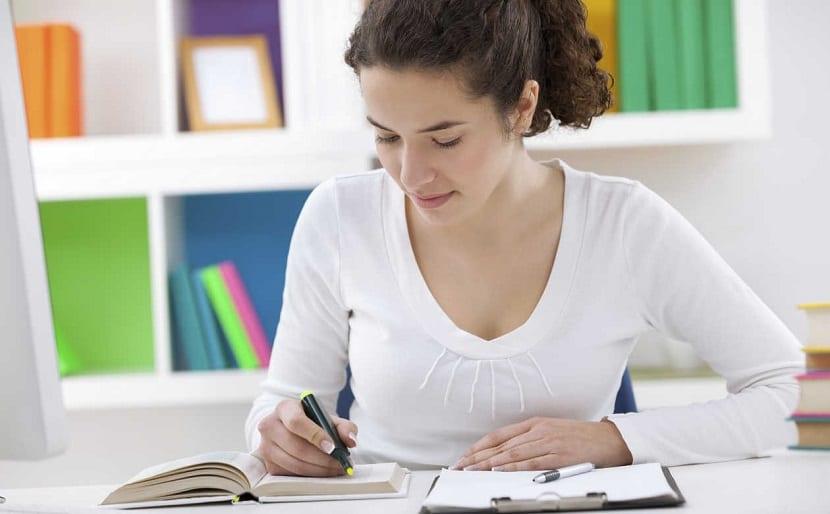 Mejorar la concentración trabajando o estudiando