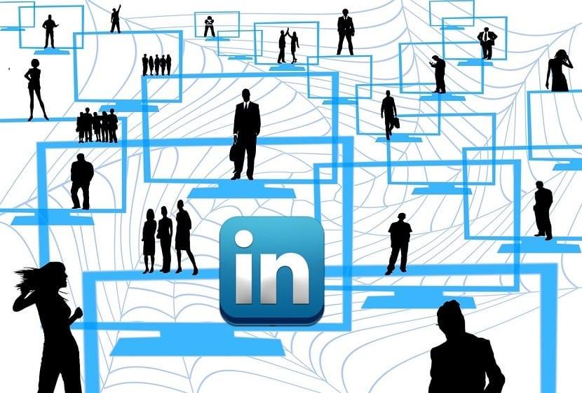 red de trabajo LinkedIn
