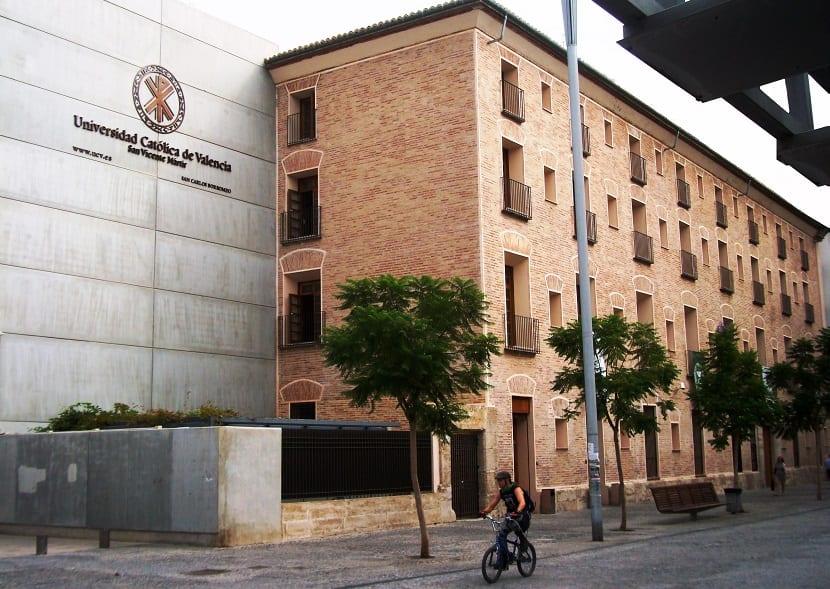 Estudios de grado y postgrado de la universidad cat lica for Universidad valencia master