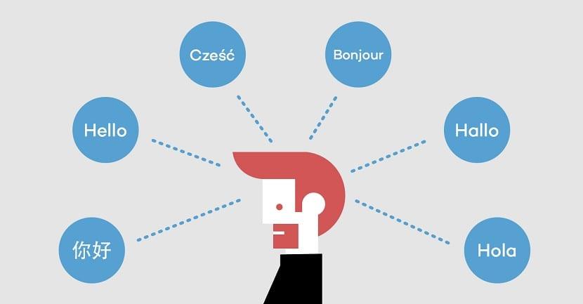 aprender un nuevo idioma palabras