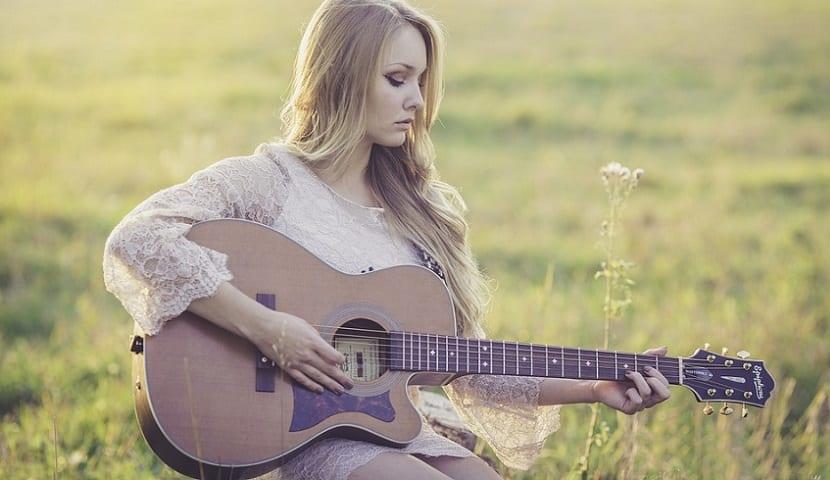 Objetivo de Nuevo Año: aprender a tocar la guitarra