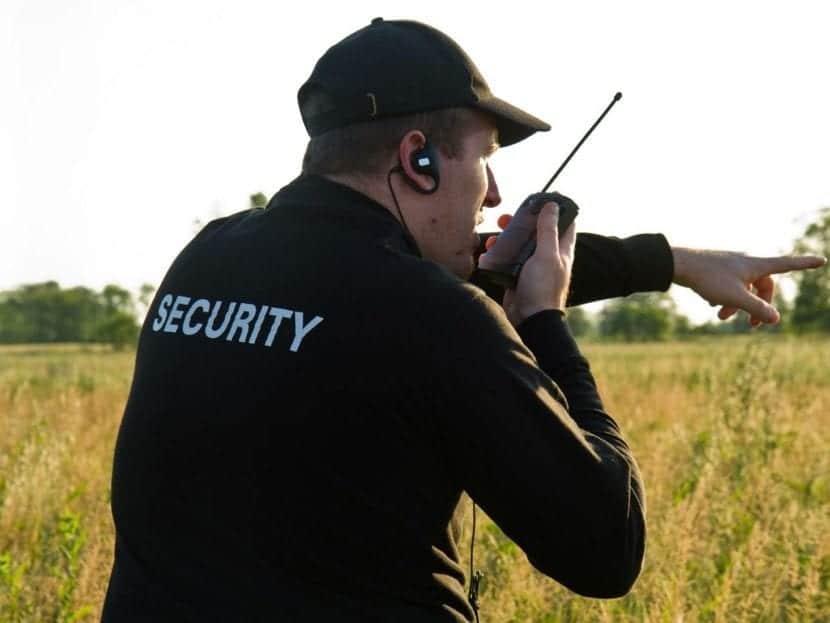 entrenamiento de vigilante de seguridad