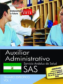 Temario SAS Auxiliar administrativo