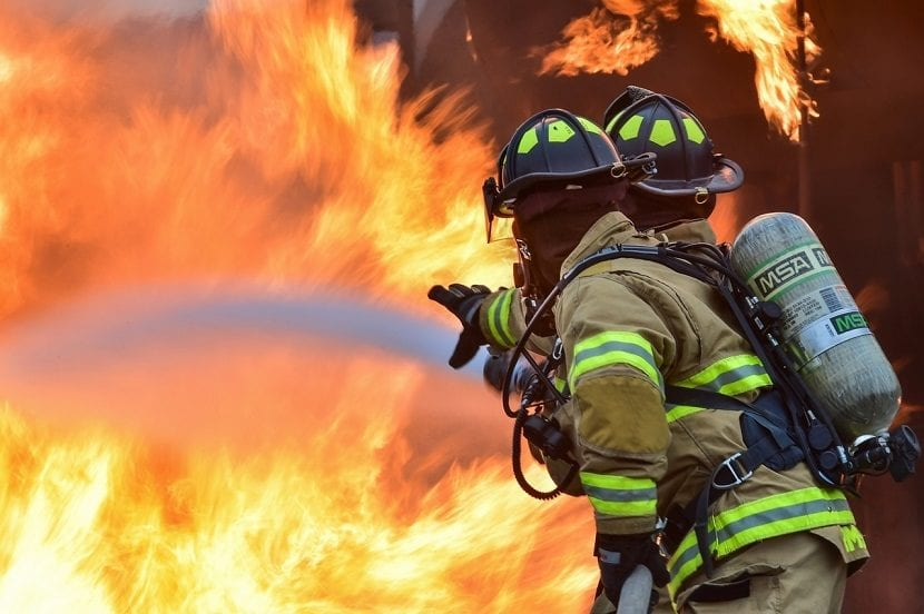Trabajo de bombero