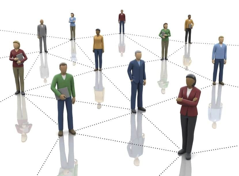 conectar entre personas profesionalmente