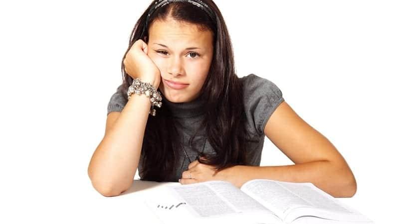 Cinco causas del estrés académico
