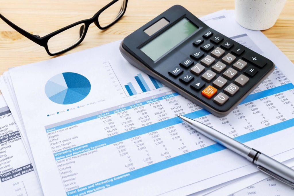 contabilidad en la oficina